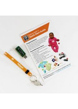 RealCare Baby® kontrollcentersats för babysimulator. (programvara och USB-nyckel)-20